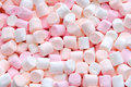 Pink And White Mini Marshmallows Royalty Free Stock Image - 68263846