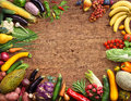 Healthy Eating Background. Studio Photo Of Different Fruits And Vegetables Royalty Free Stock Image - 68279166