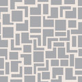 Vector Modern Seamless Geometry Pattern Squares, Grey Abstract Geometric Background, Monochrome Retro Texture Royalty Free Stock Photo - 68299985
