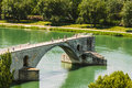 Half Ruined Bridge In Avignon, Provence, France Stock Images - 68314594