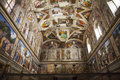 Sistine Chapel In Vatican Stock Photo - 68341480
