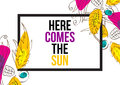Here Comes The Sun Stock Photography - 68377912