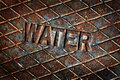 Water Cover Lid Manhole Utility Royalty Free Stock Photo - 68381785