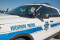 State Highway Police Patrol Vehicle Stock Photos - 68386933