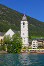 The Beautiful St. Wolfgang In Lake District Stock Photography - 6846922