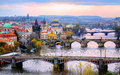 Old Town And The Bridges, Prague, Czech Republic Royalty Free Stock Photo - 68400825