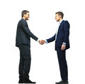Handshake Isolated Over White Royalty Free Stock Images - 68410479