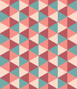 Vector Modern Seamless Colorful Geometry Triangle Pattern, Color Abstract Stock Image - 68418511