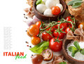 Italian Cooking Ingridients Stock Image - 68441151