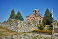 Panoramic View Of Medieval Monastery St. John The Baptist,  Bulgaria Royalty Free Stock Images - 68447929