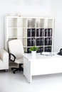 White Business Office Stock Image - 68452711