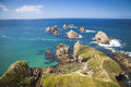 Nugget Point New Zealand Royalty Free Stock Image - 68468256