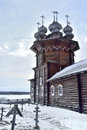 Church Of Our Lady Of The Intercession On Kizhi Island In Russia Stock Images - 68476494