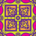 Talavera Oblana Mexican Seamless Pattern Royalty Free Stock Image - 68476926