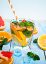 Ice Citrus Drink Stock Image - 68481461