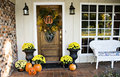 Front Fall Entryway Royalty Free Stock Photos - 6851008