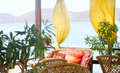 Summer Cafe Interior Stock Photography - 6854242