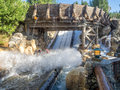 Rafters Enjoying The Grizzly River Run, Disney California Adventure Park Stock Images - 68508664