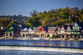 Boathouse Row Stock Photo - 68515810