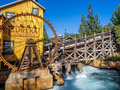 Mine Feature At The Grizzly Peak River Run Royalty Free Stock Image - 68548066