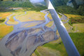 Alaska - Flying Over Braided River Delta In Lake Clark National Park Royalty Free Stock Image - 68554276