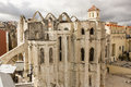 Ruins Of Carmo Church And Convent In Lisbon, Portugal Royalty Free Stock Photos - 68570538