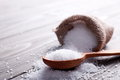 Sea Salt In The Bag Stock Photography - 68570922