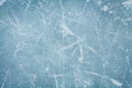 Ice Hockey Rink Background Or Texture From Above, Macro, Royalty Free Stock Photo - 68571335