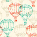 Pattern With Air Balloons Stock Image - 68590051