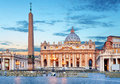 Vatican, Rome St. Peters Basilica Royalty Free Stock Photo - 68639705