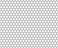 Vector Modern Seamless Geometry Pattern Hexagon, Black And White Honeycomb Abstract Royalty Free Stock Image - 68648226