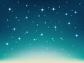 Background With Night, Stars In The Sky, Shining Light Royalty Free Stock Photo - 68649005
