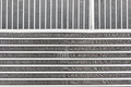 Texture Of The New Engine Cooling Radiators Stock Photo - 68711260