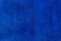 Old Scratched And Chapped Painted Royal Blue Wall. Empty Blue Template. Abstract Textured Colored Background Stock Photos - 68759663
