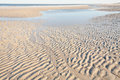Sand Ripples On The Beach Stock Image - 68765861