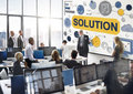 Solution Problem Solving Ideas Strategy Concept Royalty Free Stock Image - 68791796