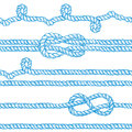 Engraved Ropes And Knots Royalty Free Stock Photography - 68798317