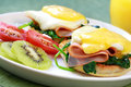Eggs Benedict Royalty Free Stock Images - 6883829