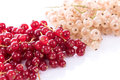 Fresh Red And White Currants Stock Photos - 68818843