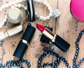 Red Lipstick Royalty Free Stock Photo - 68861225