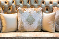 Classic Style Pillows And Sofa. Royalty Free Stock Photography - 68871377