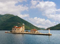 Montenegro, Bay Of Kotor. Island Of Our Lady Of The Rocks Royalty Free Stock Images - 68890449