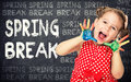 Spring Break Concept Royalty Free Stock Images - 68890549