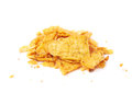 Pile Of Chips Crumbles Isolated Royalty Free Stock Image - 68901076