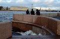 In St. Petersburg The Wind And Wet Weather. Stock Photos - 68927453
