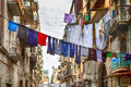Traditional Streets Of Naples , Italy Royalty Free Stock Images - 68940669