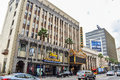 Beautiful Buildings On Hollywood Boulevard The World Famous Walk Of Fame Stock Images - 68946714