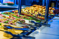 Cruise Ship Food Buffet Royalty Free Stock Images - 68973279