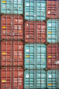 Container Stack Royalty Free Stock Photography - 697757