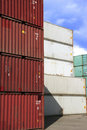 Container In Stock Stock Photo - 697770